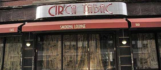 LE BAR / LE RESTO OU TU PEUX ENCORE FUMER