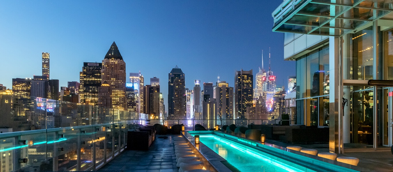 LE MEILLEUR ROOFTOP DE NEW YORK / THE PRESS LOUNGE