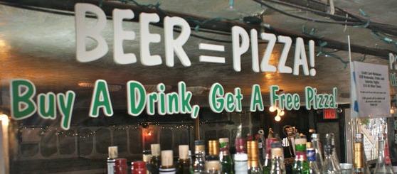 OU MANGER UNE PIZZA GRATUITE ?