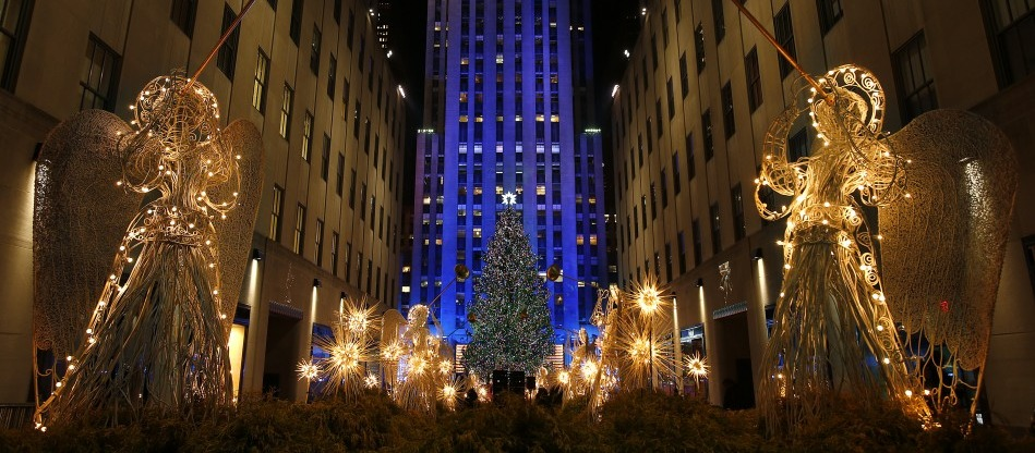 MY NYC / LE SAPIN GEANT DE ROCKFELLER CENTER