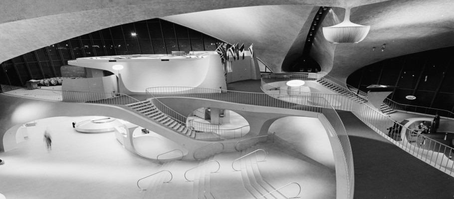 FAITES DU TOURISME ARCHITECTURAL A JFK AIRPORT