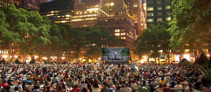 UN CINEMA EN PLEIN AIR A NEW YORK ?